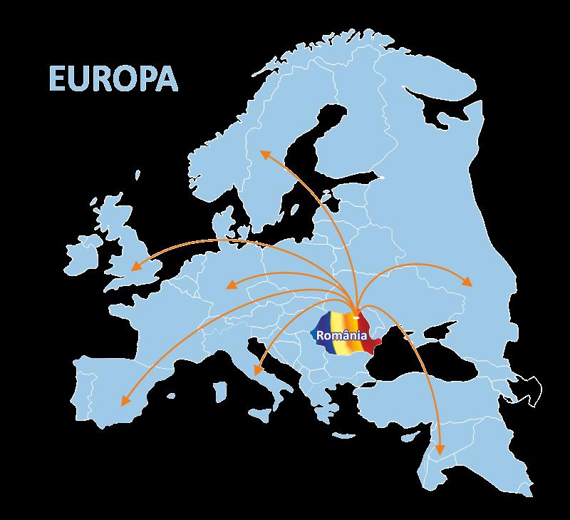 harta europa export